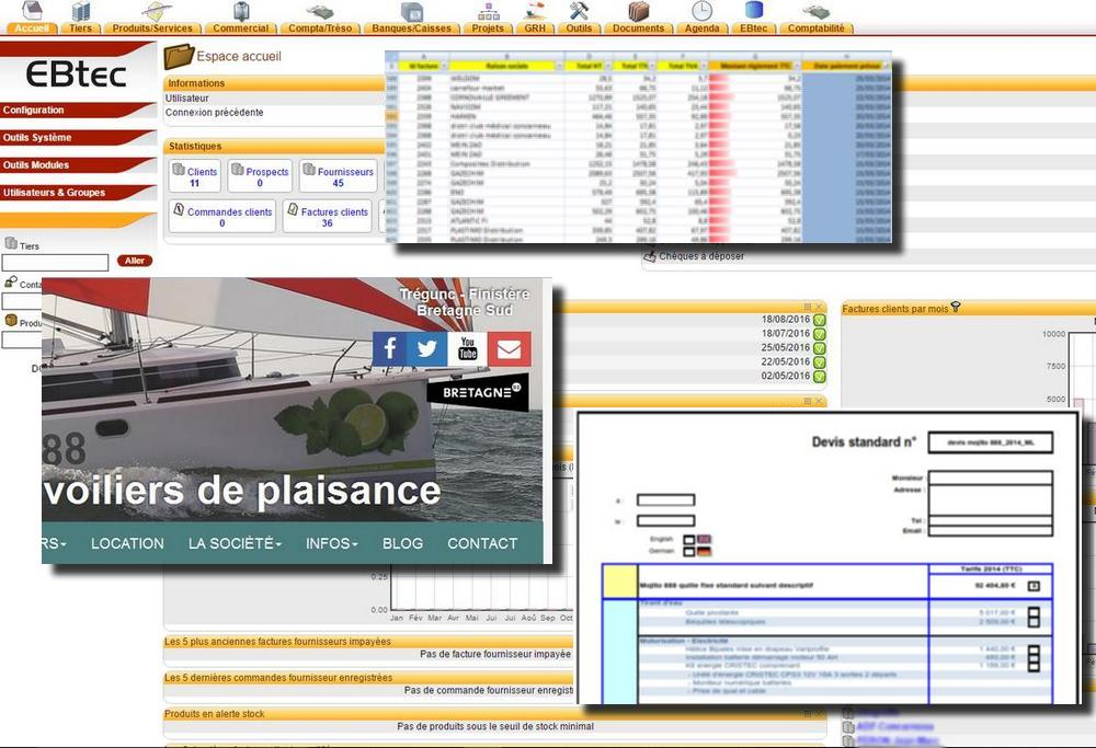 EBTEC:Communication Web - Gestion